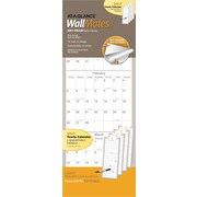 "AT-A-GLANCE® Self Adhesive Dry Erase Quarterly Calendar, 2017, 9"" x 24"", WallMates® (AW6062 28 17)"