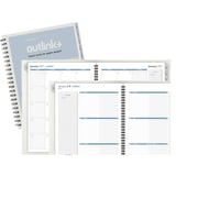 "AT-A-GLANCE® Weekly/Monthly Wirebound Appointment Book Refill, 2017, 8 1/2"" x 11"", Outlink (70-2009-10-17)"