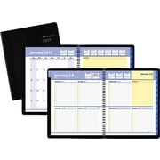 "AT-A-GLANCE® Weekly/Monthly Appointment Book, 2017, 8"" x 9 7/8"", QuickNotes® (76-01-05-17)"