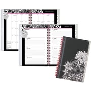 "AT A GLANCE® Customizable Weekly/Monthly Planner, 2017, 4 7/8"" x 8"", FloraDoodle (189 201 17)"
