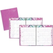 "AT-A-GLANCE® Weekly/Monthly Planner, 2017, 8 1/2"" x 11"", Taryn (142-905-17 )"