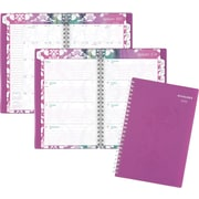"AT-A-GLANCE® Weekly/Monthly Planner, 2017, 4 7/8"" x 8"", Taryn (142-200-17 )"