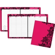 "AT-A-GLANCE® Weekly/Monthly Appointment Book/Planner, 2017, 8 1/2"" x 11"", Madonna Lace (530-905-17)"