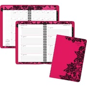 "AT-A-GLANCE® Weekly/Monthly Appointment Book/Planner, 2017, 5 1/2"" x 8 1/2"", Madonna Lace (530-200-17)"