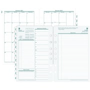 "Franklin Covey® Original Two Page Per Day Planner Refill, Loose-Leaf, 2017, 5 1/2"" x 8 1/2"" (35419-17)"