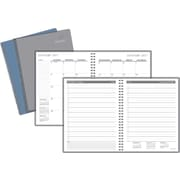 "Staples® Medium Daily Appointment Book/Planner, 2017, 6 7/8"" x 8 3/4"" (12936-17)"