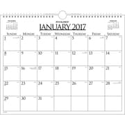 "AT A GLANCE® Business Monthly Wall Calendar, 2017, 15"" x 12"" (997 1 17)"