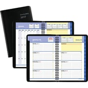 "AT-A-GLANCE® Weekly/Monthly Appointment Book/Planner, 2017, 4 7/8"" x 8"", QuickNotes® (76-02-05-17)"