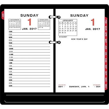 at a glance daily calendar