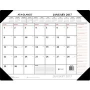 "AT A GLANCE® Monthly Desk Pad, 2017, 22"" x 17"", Two Color (SK1170 00 17)"