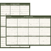 "AT-A-GLANCE® Recycled Vertical/Horizontal Wall Calendar, 2017, 24"" x 36"" (PM212G 28 17)"