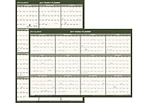 AT-A-GLANCE® Recycled Vertical/Horizontal Wall Calendar, 2017, 24' x 36' (PM212G 28 17)