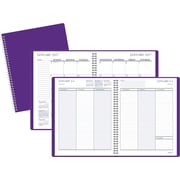 "Staples® Medium Weekly/Monthly Planner, 2017, 6 7/8"" x 8 3/4"" (26405-17-CC)"