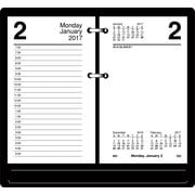 "AT A GLANCE® Daily Loose Leaf Recycled Desk Calendar Refill, 2017, 3 1/2"" x 6"" (E717R 50 17)"