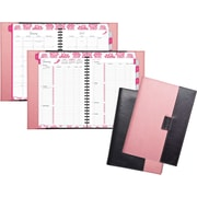 "Day-Timer® Reversible Weekly/Monthly Planner, 2017, 5 1/2"" x 8 1/2"", Pink Ribbon (88864-1701)"