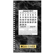 "Day-Timer® Two Page Per Day Wirebound Original Planner Refill, Quarter-Hourly Appointments, 3 1/2"" x 6 1/2"" (87010-1701)"