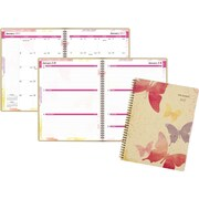 """AT-A-GLANCE® Recycled Weekly/Monthly Planner, 2017, 8 1/2"""" x 11"""", Watercolors (791-905G-17)"""