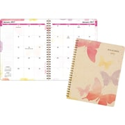 "AT-A-GLANCE® Monthly Planner, 2017, 6 7/8"" x 8 3/4"", Watercolors (791-800G-17)"