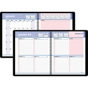 """AT-A-GLANCE® Weekly/Monthly Appointment Book/Planner, 2017, 8"""" x 9 7/8"""", QuickNotes® City of Hope (76-PN01-05-17)"""
