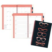 "AT A GLANCE®Weekly/Monthly Planner, 2017, 4 7/8"" x 8"",  Glasses (125S 200 17)"