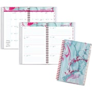 "AT A GLANCE® Customizable Weekly/Monthly Planner, 2017, 4 7/8"" x 8"", Paper Marbling (188 201 17)"