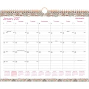 "AT A GLANCE® Monthly Wall Calendar, 2017, 14 7/8"" x 11 7/8"", Marrakesh (W182 707 17)"