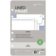 "Franklin Covey® Lined Pages for Organizer, 50 Sheets, 5 1/2"" x 8 1/2"" (26888)"