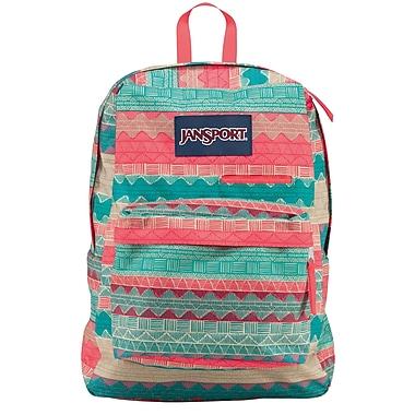 Jansport Digibreak Backpack, Malt Tan Boho Stripe (T50F04G) | Staples®