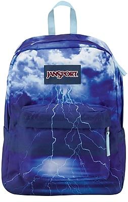 Jansport High Stakes Multi Lightening Strike Fabric Backpack (TRS70AW)