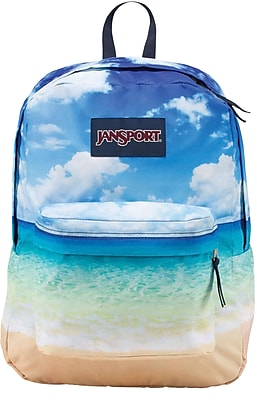 Jansport High Stakes Backpack, Multi Tropical Island (JS00TRS70LV)