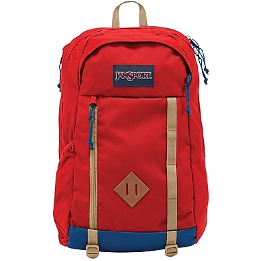 Jansport Foxhole Backpack, Red Tape (JS0A2T325XP) | Staples®