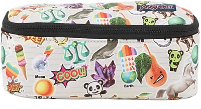 Jansport Vector Accessory Pouch, Multi Stickers (T68Z0KN)