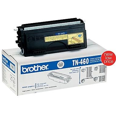 Brother TN-460 Black Toner Cartridge, High Yield