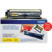 Brother Toner Cartridge, Yellow (TN210Y)