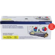 Brother Toner Cartridge, Yellow, High Yield (TN225Y)
