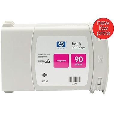 HP 90 Magenta Ink Cartridge (C5063A), 400ml