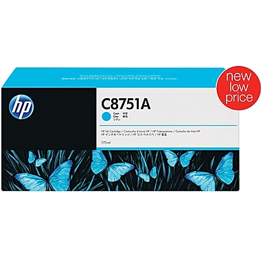 HP CM8050/CM8060 Cyan Ink Cartridge (C8751A)