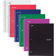 "Mead Five Star Wirebound Notebook, 3 Subject, Wide Ruled, 10 1/2"" x 8"" (05204)"