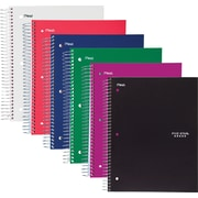 "Mead Five Star Wirebound Notebook, 5 Subject, Wide Ruled, 10 1/2"" x 8"" (05206)"