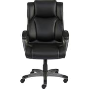 Staples Washburn Bonded Leather Office Chair, Black