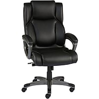 Staples Washburn Bonded Leather Office Chair (Black)