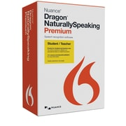 Dragon NaturallySpeaking 13 Premium Student/Teacher Edition for Windows (1 User)[Boxed]