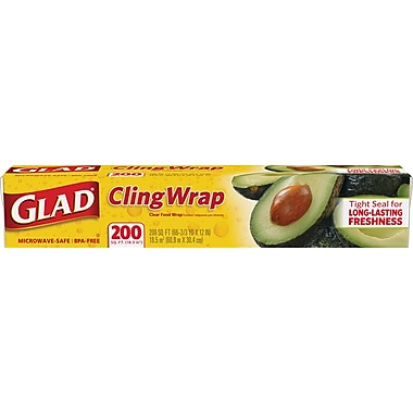 Clorox® Glad® Food Cling Wrap, 68 5/6 yds x 11 5/8
