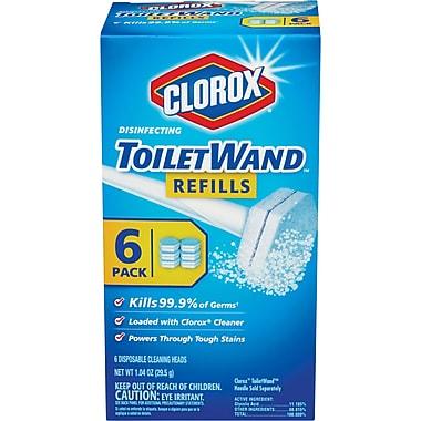 Clorox® Disinfecting ToiletWand® Refills, 6 Count