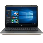 "HP 14-al061nr, 14"", Intel Core i3-6100U Processor, 8 GB RAM, 1 TB SATA, Windows 10 Home, Gold Notebook"