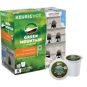 Keurig® K-Cup® Green Mountain® Colombian Fair Trade Coffee, Decaf, 18 Pack