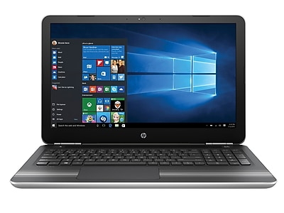 "HP Pavilion 15-au062nr 15.6"" FHD Touchscreen Laptop with Intel Core i5-6200U / 8GB / 1TB / Win 10 (Silver)"