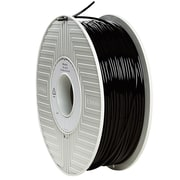 Verbatim® 3 mm PLA 3D Printer Filament, Black, 1kg, 2.2 lbs. (55259)