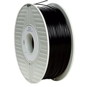 Verbatim 1.75mm PLA 3D Printer Filament Black 1KG 2.2LBS Reel (55250)