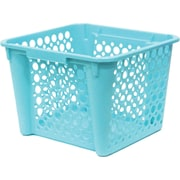 United Solutions Large Nesting Stacking Crate, Teal (CR0341)